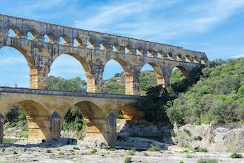 Feerie Pont Du Gard